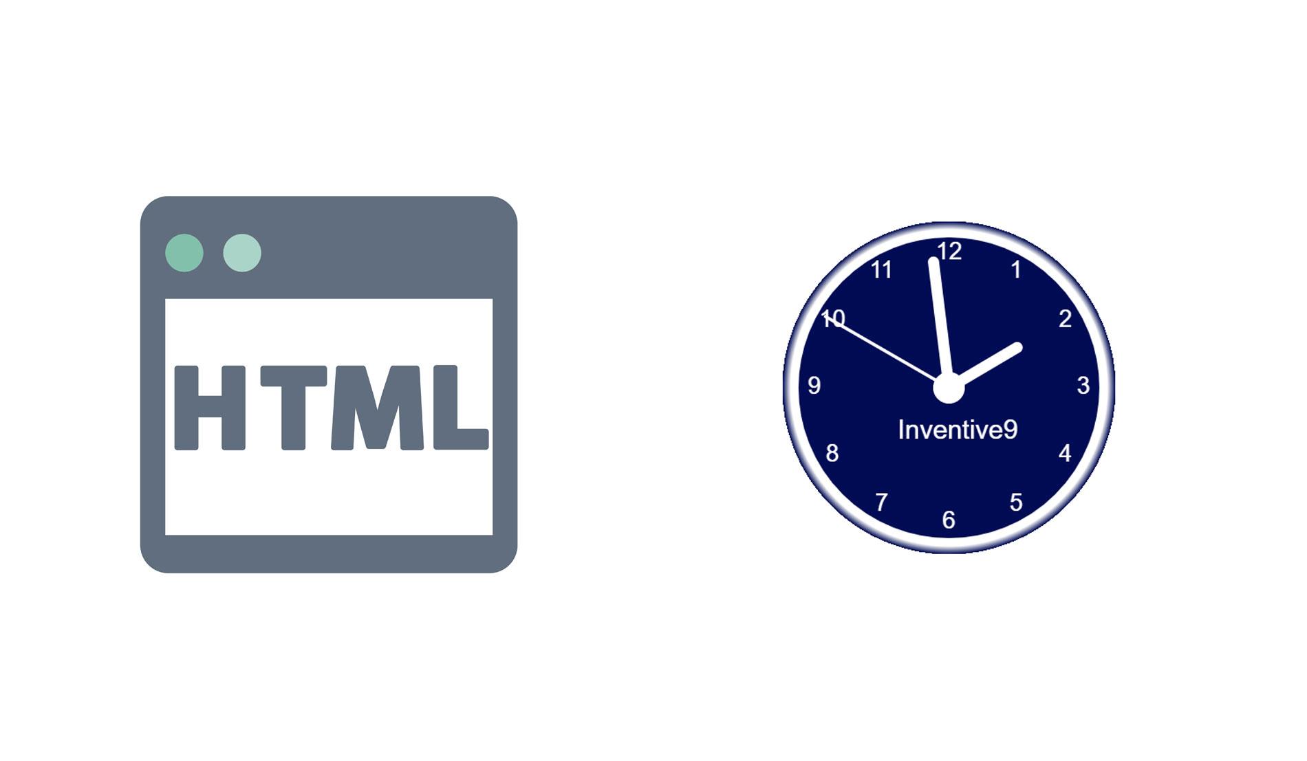 Html Clock