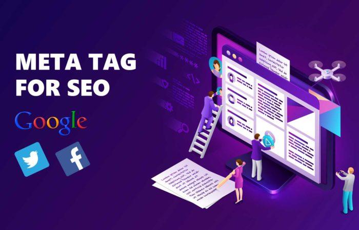 Meta tag for seo