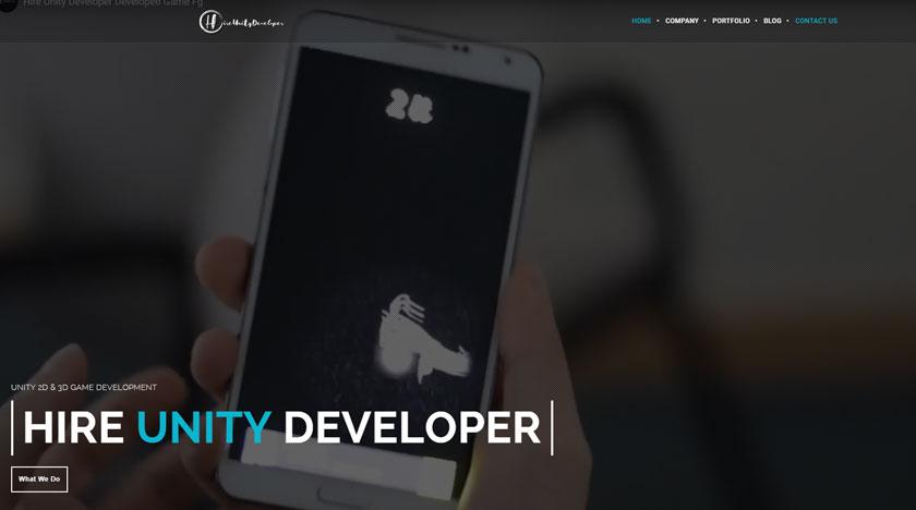 hireunitydeveloper-Web-development-Client