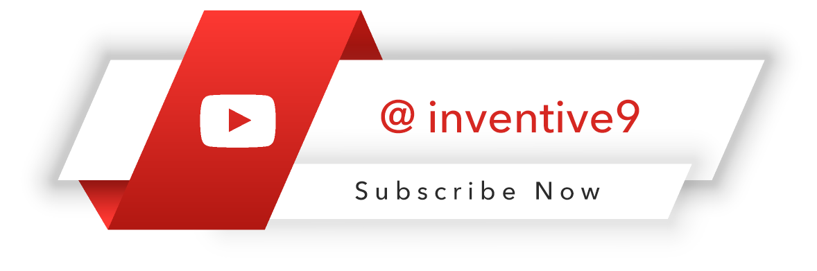 Youtube-Inventive9-Subscribe-NOW